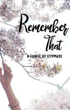 Remember That • BTOB Hyunsik by icyymads