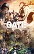 Gate Thus the fellowship of middle earth enters the gate by WriterWho11th