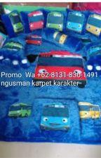 Promo,+62-8131-830-1491 Pengrajin,Distributor,Karpet karakter tayo by Karpetkarakter