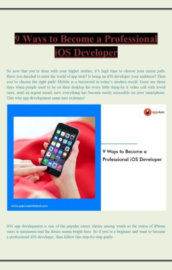 9 Ways to Become a Professional iOS Developer - AppClues