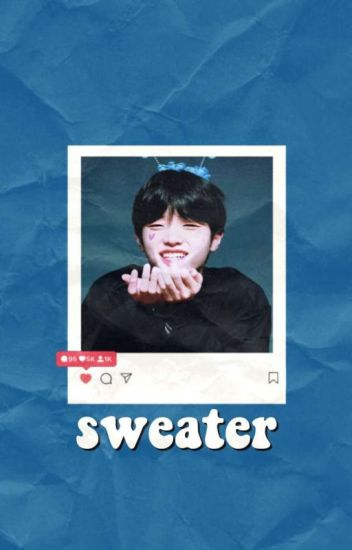 sweater | son dongpyo | jacket book 2
