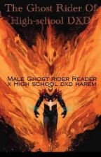 The Ghost Rider Of High-school DXD (A Male Reader Story)  by stevethealbino