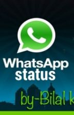 100 best whatsapp status by bilalkhankkc