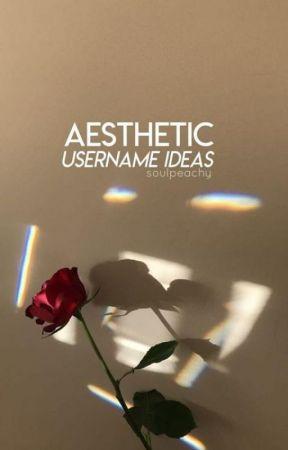Aesthetic Username Ideas Baddie Usernames Wattpad