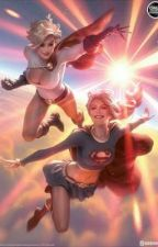 son of superwoman and tai and son of power girl and ghira by EricCoronado3