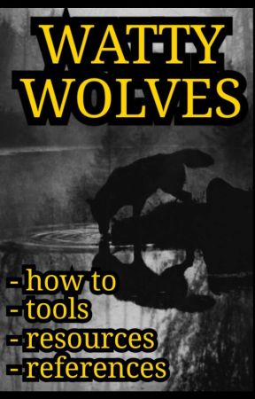 Resources & References  by WattyWolves