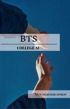 BTS college AU by mochiandacookie