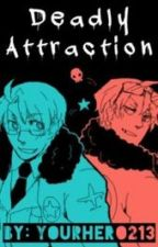 Deadly Attraction: 2P!America x Reader x America by YourHero213