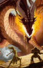 Dragón de oro de Fiore by DANTE477