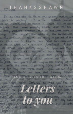Letters To You | Spin-off zu Fate by thanksshawn