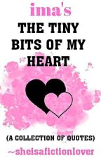 THE TINY BITS OF MY HEART by sheisafictionlover
