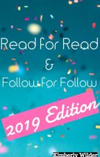 Read for Read! Follow for Follow! 2019 edition! by jediempress