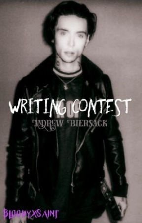 Andy Biersack writing contest  by BloodyxSaint