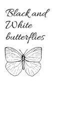 Black and White Butterfly by love90000000000