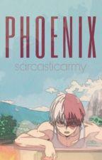Phoenix // Todoroki Shouto x reader // by sarcqsticARMY