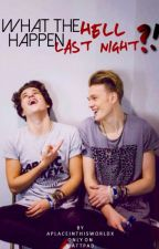 what the hell happen last night? ➔ tradley o. s. {the vamps} by wefoundwonderland-