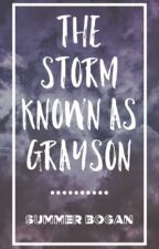 The Storm Known as Grayson  by StoryTimeSummer