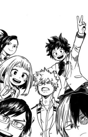 Class 1-A group chat by shigaraki_is_gay