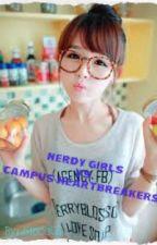 Nerdy Girls VS. Campus Heartbreakers by Gielligumgum