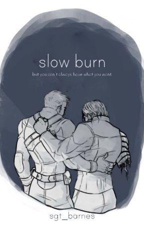 slow burn (steve rogers x bucky barnes) by sgt_barnes