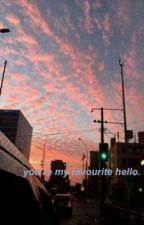 you're my favourite hello- newtmas au! by messypage