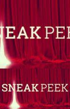 Sneak Peeks by MasterSplinter17