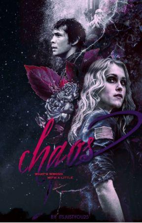 CHAOS ➳ BELLAMY BLAKE & CLARKE GRIFFIN by ItsJustYou25