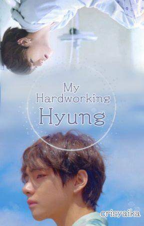 My Hardworking Hyung • Vkook by Crisyaika