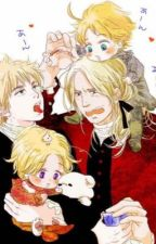 A toast to forever  (hetalia F.A.C.E) by jelsa_fnaf_lover