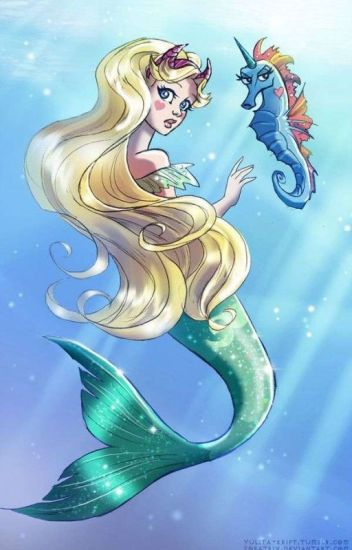My bestfriend is a mermaid.