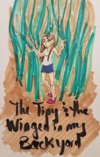 The tiny and the winged in my backyard by tallyetsmol