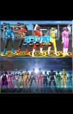 Ressha Sentai Toqger 2 vs Kyuranger  by HarryJohnson486