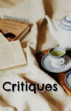 Critiques by mynameizbri