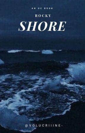 ،،  rocky shore  🐟 ⸝   ▅   an oc book .  by volucriiine-