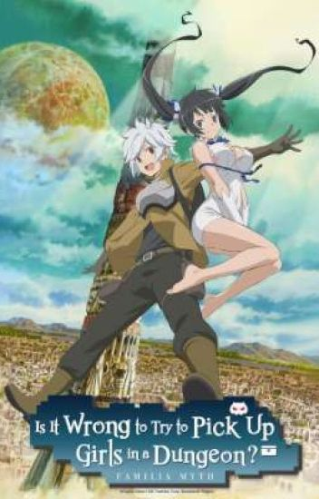 is it wrong to pick up girls in a dungeon x shy male reader