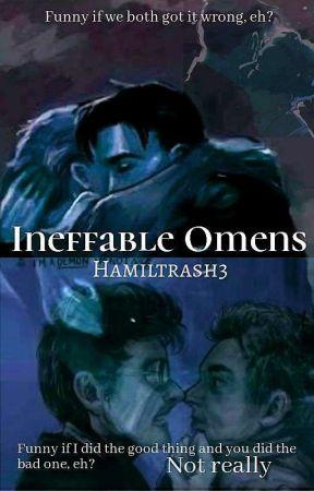 Ineffable Omens (Crowley x Aziraphale) by Hamiltrash3