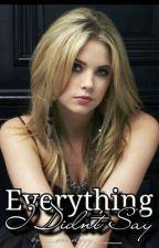 ✓ Everything I Didn't Say ~ C.H. by cuddlekeek