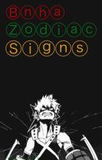 Bnha/Mha zodiacs by SakuraOtaku_13