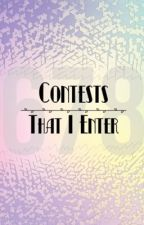 Contests I Enter by CoverCreator678