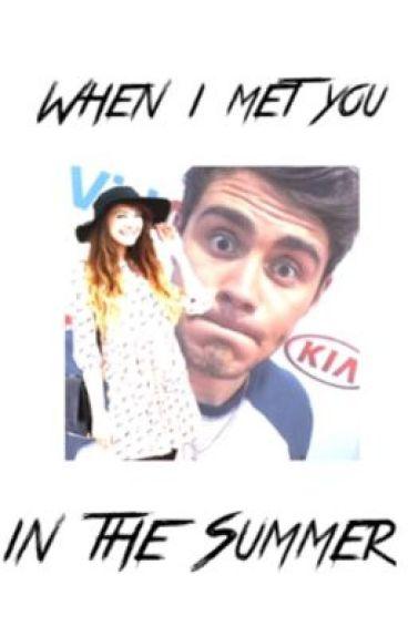 When I met you in the Summer || Zalfie