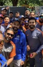 Indian Cricket Team Imagines by A_Solivagant