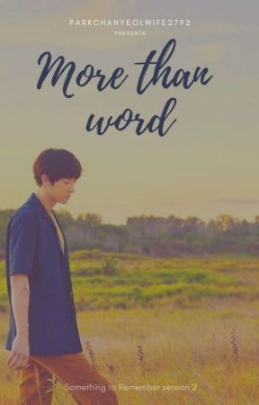 More than Word (You X Chanyeol EXO) by parkchanyeolwife2792