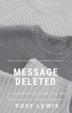 message deleted » wolfstar au « by badwolfstarlock