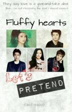 Fluffy Hearts: Let's Pretend by sacheeko