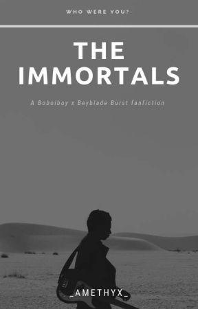 The Immortals [Beyblade Burst x Boboiboy Galaxy] by _Amethyx_