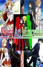 Sword art Miraculous (Adrinette x Kisuna) by linduradeangel17