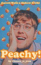 peachy! (Garrett watts x Andrew siwiki) by h0ney_is_yum