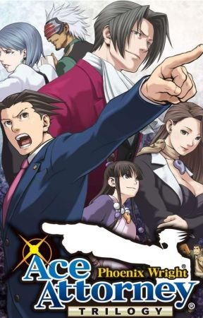 (The Lawyer Who Became A Legend) Ace attorney harem x Male reader by Shade246