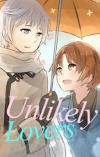Unlikely lovers  by rubyheart_arts