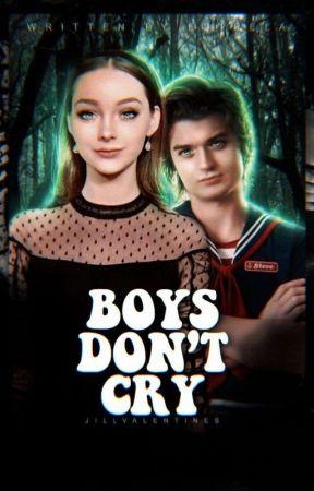 Boys Don't Cry • Steve Harrington by Uncharted_TLOU_13